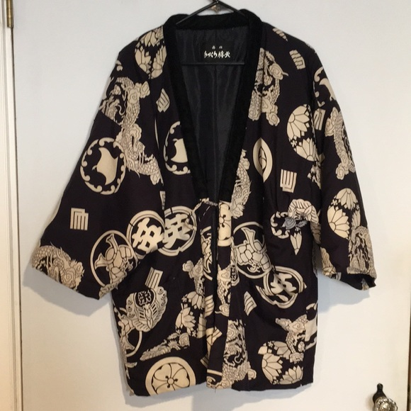 Other - Traditional Kimono Silk and velvet jacket